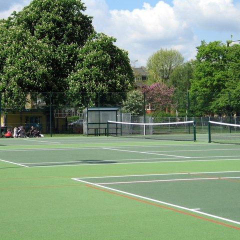 Tennis Courts in Clapham Common