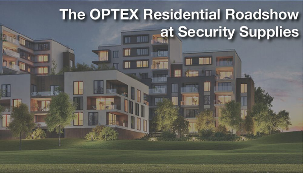 Optex security supplies roadshow png