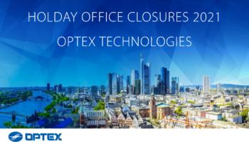 Holiday office closure 2021