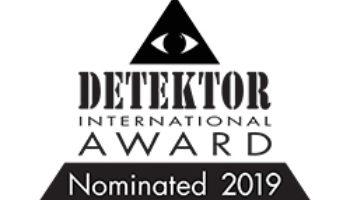 Nominated Detektor International 2019