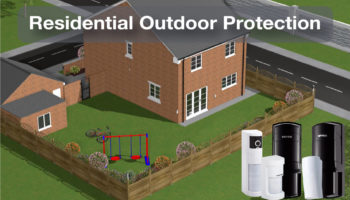 Optex residential garden protection