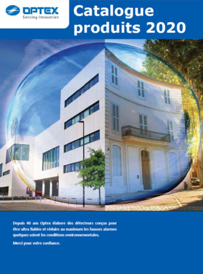 OPTEX Catalogue2020cover FR