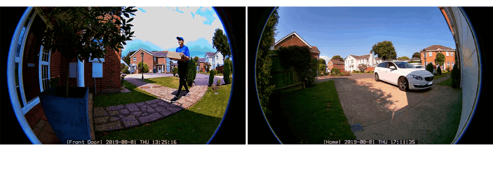 Optex vxi cmod camera view
