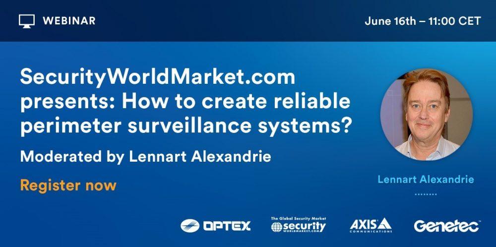Security Worldmarket perimeter panel optex axis genetec