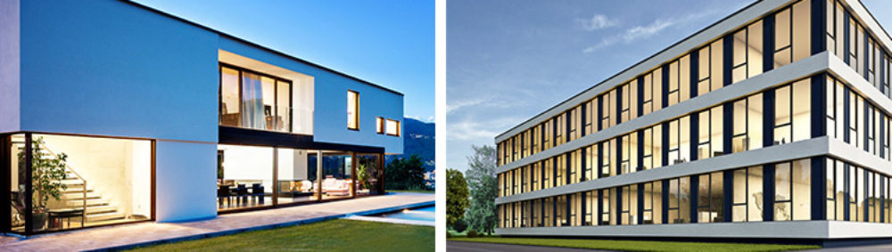 Optex bxs applications residential commercial 750x212px