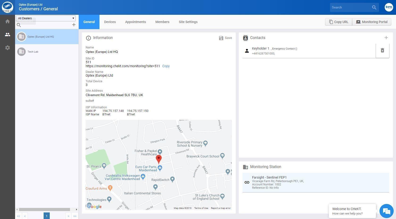 Intelligent Visual Monitoring Portal