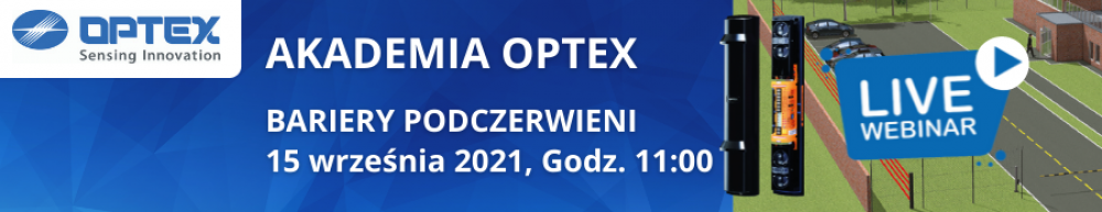 Akademia OPTEX WEBINAR