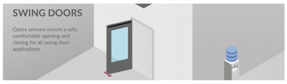 Sensor tool Swing Doors