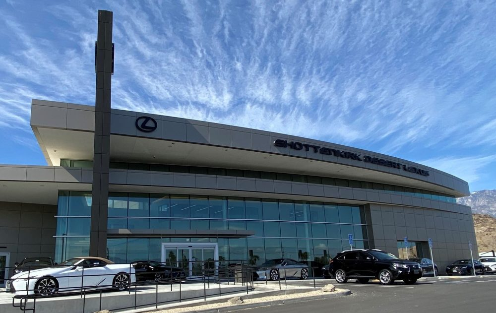 Shottenkirk Lexus Front of Building