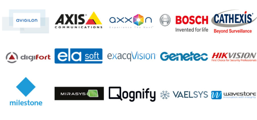 Optex integration partners logos