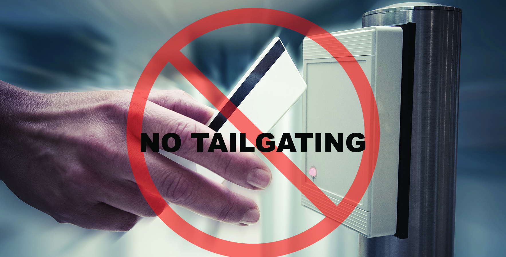 No Tailgating Access Securtity Website Visual