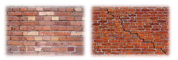 huid als een muur