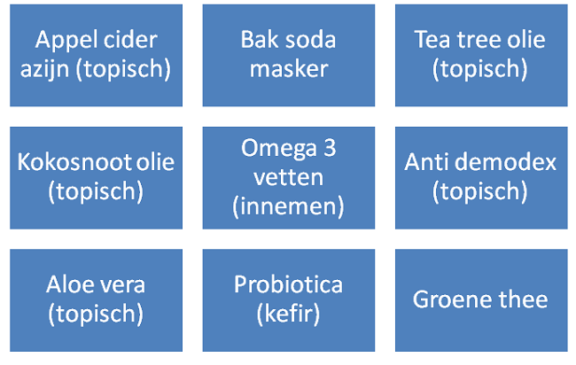 medicatie acne dermatoloog