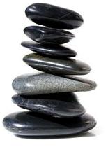 stenen op elkaar