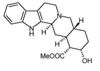 yohimbine moleculen