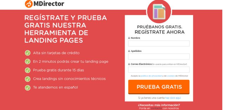 beneficios pagina conversion