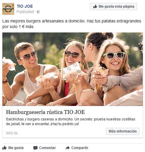 elegir una foto llamativa - facebook anuncios