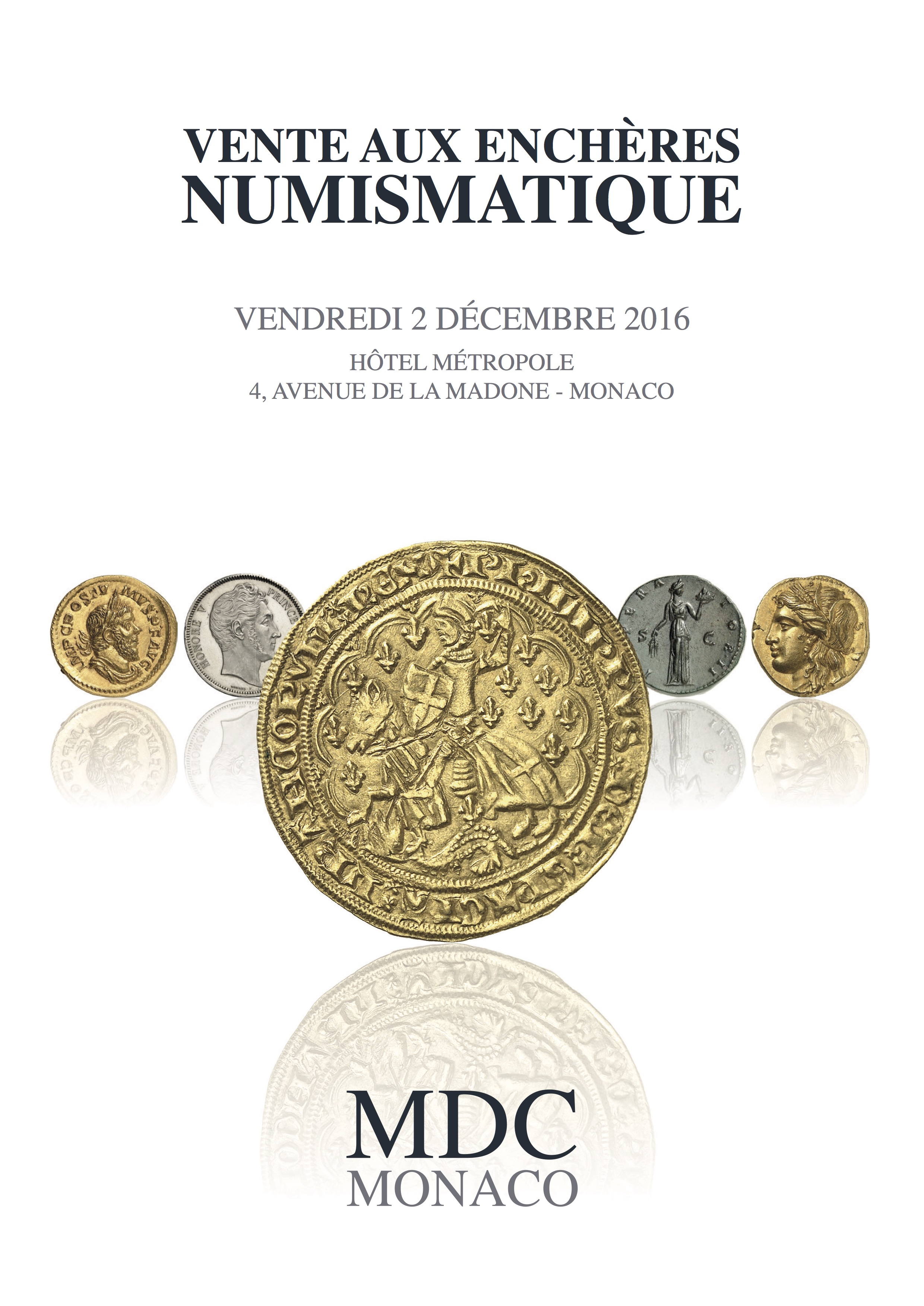 ENCHERE NUMISMATIQUE N°1