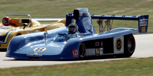 George Follmer in the Prophet at Road America in 1978.  Copyright Glenn Snyder 2009.  Used with permission.