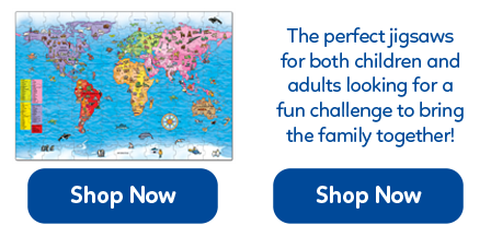 Challenging educational jigsaws for both children and adults from 50 to 100 pieces.