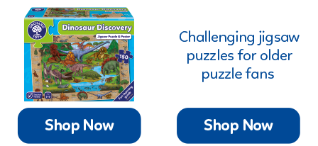 These challenging jigsaws range from 50-150 pieces, perfect for young puzzle fans!