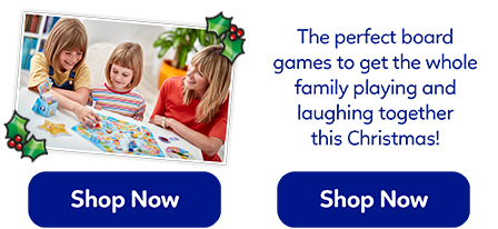 These fantastic board games will provide endless family fun! Get everyone laughing and playing.