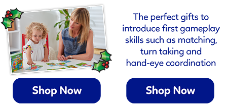 A great range of educational games for 1-2 year olds. The perfect first gift for little learners!