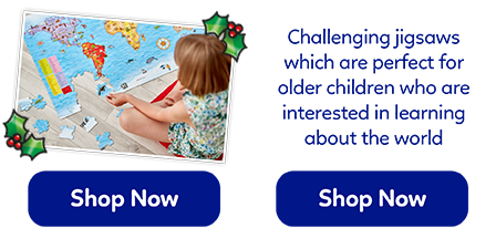 These challenging jigsaws range from 50-150 pieces, the perfect gifts to keep children entertained!