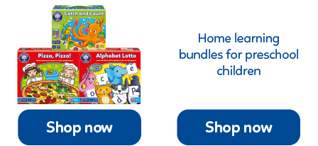 Home learning packs to help preschool children be able to learn from home