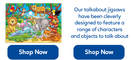 Talkabout jigsaws are great to stimulate discussion and encourage your child's development.