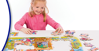 Jigsaw Puzzles 25-50 Pieces: