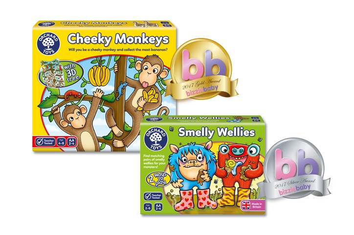 Bizziebaby Award Wins Orchard Toys
