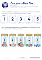 Collect and Count Activity Sheet