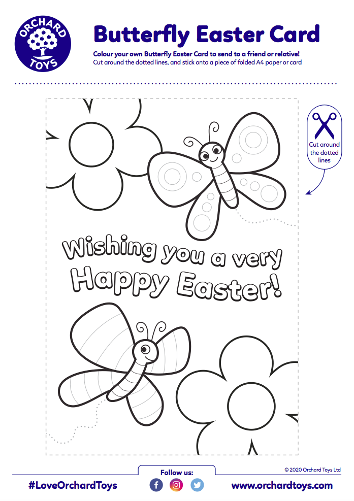 Easter Butterfly Card
