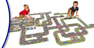Orchard Toys Giant Road System