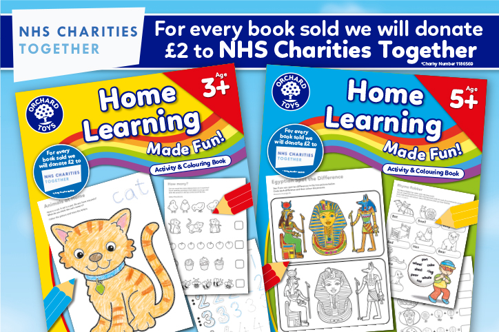Home Learning Activity Books