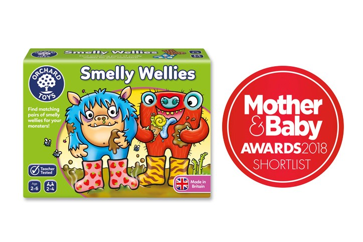 Mother and Baby Shortlist Smelly Wellies Game