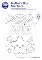 Mother's Day Star Card