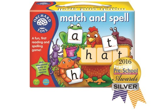 Match and Spell Silver Award Practical Preschool
