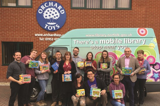 Orchard Toys Mobile Library Donation