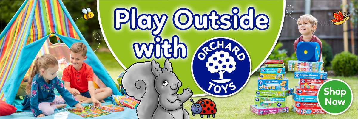 Play Outside With Orchard Toys