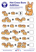 Hot Cross Buns Activity Sheet