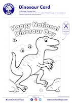 National Dinosaur Day Card