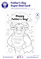 Father's Day Super Dad