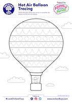 HLM Hot Air Balloon Tracing