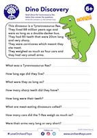 Dino Comprehension