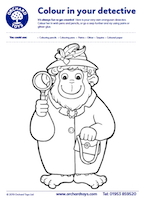 Sound Detectives - Orangutan Colouring Sheet