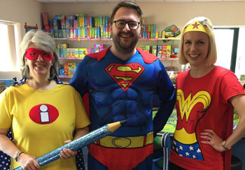 EACH Superhero Fundraising Day