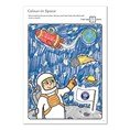 Outer Space Colouring Book