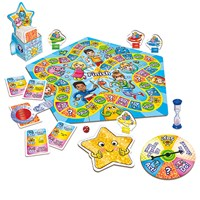 Orchard Toys What a Performance Board Game Contents